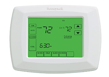 HVAC Home Control Tablet Device
